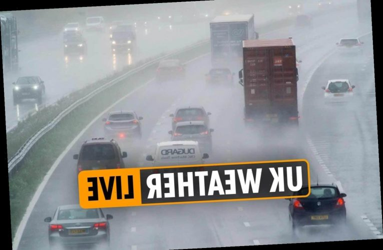 Weather forecast today – Live Met Office FLOOD warnings as heavy rain, winds, and snow batter Brits over half term