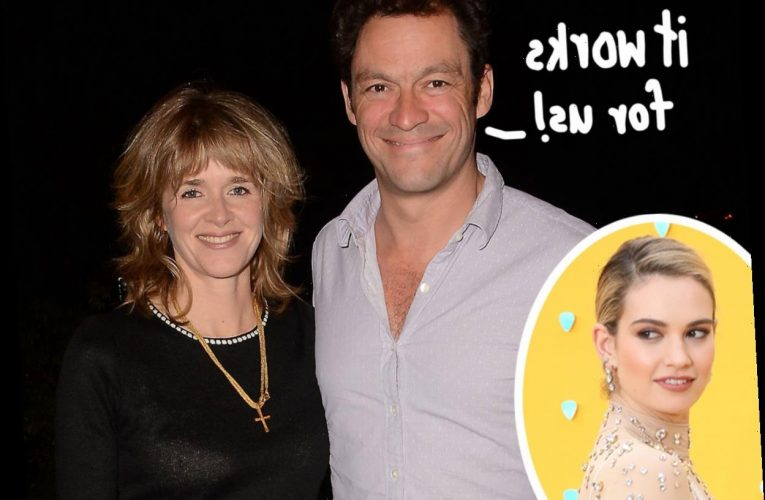 This Dominic West Quote From 8 Years Ago Might Tell You Everything You Need To Know About His Marriage!