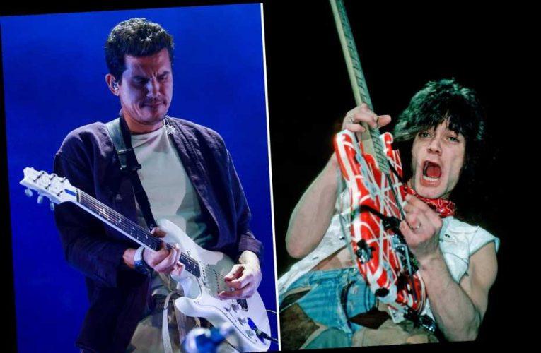 John Mayer Pays Tribute to Eddie Van Halen: 'A True Virtuoso'