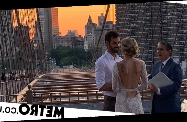A stranger's photo of my wedding on Brooklyn Bridge went viral