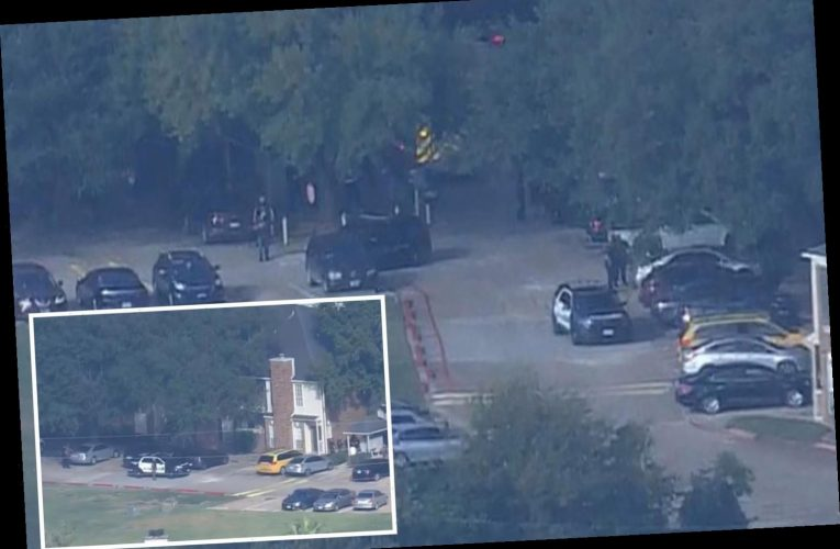 Shooter still at large after two cops 'struck by gunfire' near Houston medical center