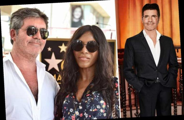 Simon Cowell is putting on weight to help recovery from breaking his back, reveals Sinitta