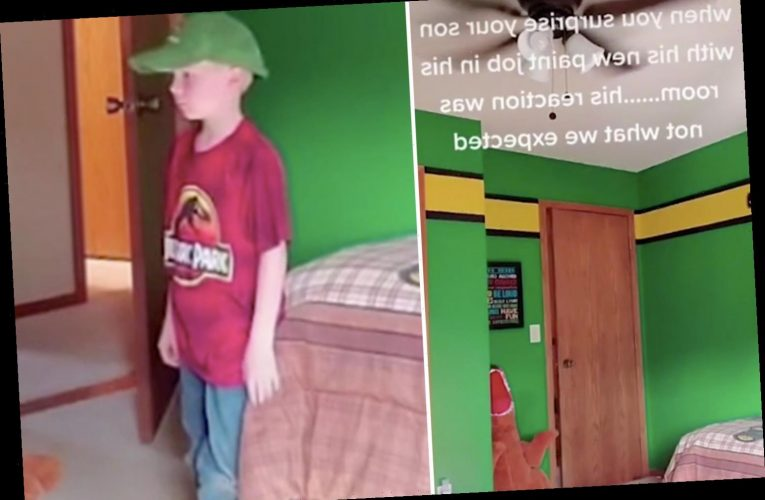 Dad surprises son with a bedroom makeover – but gets a SERIOUSLY unimpressed reaction
