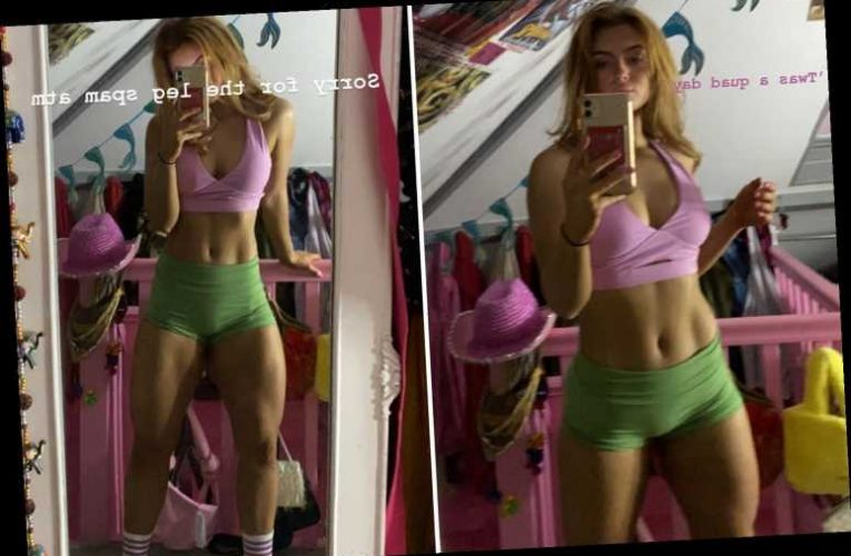 EastEnders Maisie Smith looks incredible in hotpants and sports bra after workout in the gym