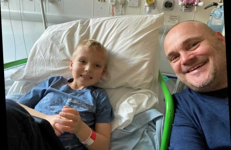 Al Murray says 'very very very seriously ill' nephew, 7, is 'hanging in there' and reveals lockdown 'struggles'