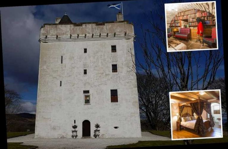 You can stay in a haunted castle for Halloween – with its own 'murder hole' and pit prison