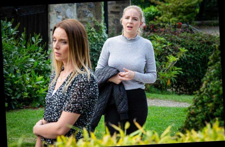 Emmerdale's Andrea Tate switches sides and backs estranged husband Jamie in major Belle Dingle twist