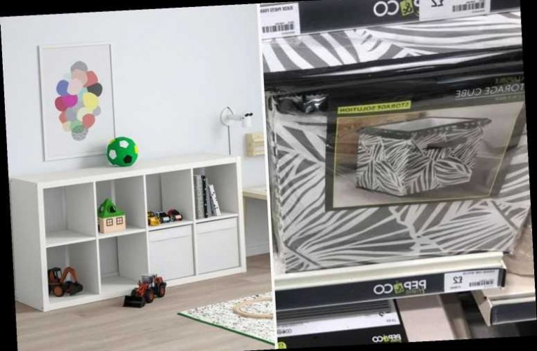 DIY fanatics swear by Poundland boxes to liven up their Ikea units at a fraction of the price