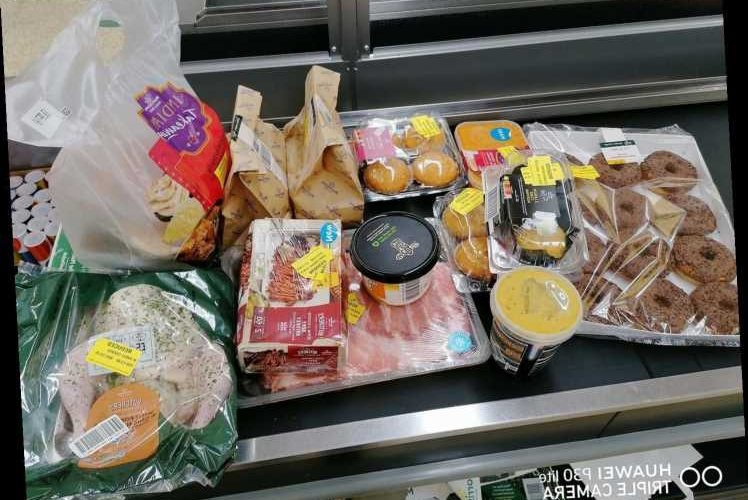Thrifty mum impresses shoppers with her HUGE Morrisons haul she picked up for just £3.44