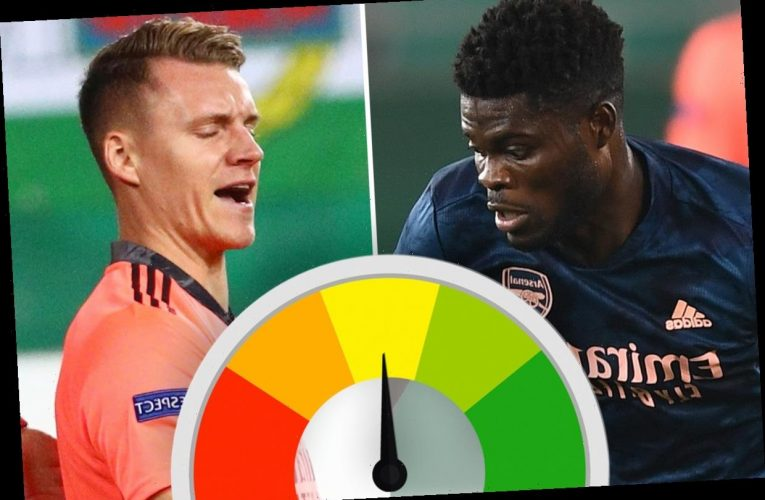 Arsenal player ratings: Partey masterclass and Aubameyang brilliance gloss over Leno howler in Europa League win