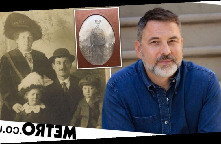David Walliams' great grandfather was put in asylum for 43 years after war