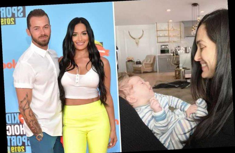 WWE legend Nikki Bella reveals battle with postpartum depression after birth of son Matteo sparked 'massive breakdown'