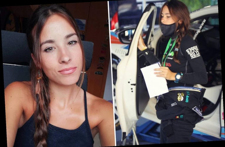 Laura Salvo dead aged 21: Spanish rally car co-driver dies in horror crash at Rally Vidreiro in Portugal