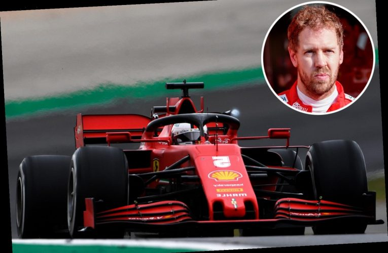 Ferrari forced to deny Sebastian Vettel conspiracy theory over his slower car which left F1 driver 'biting tongue'