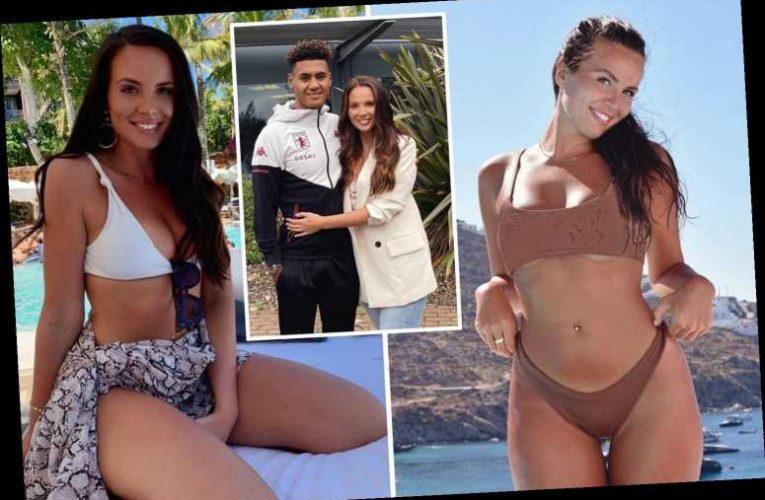 Meet Aston Villa hotshot Ollie Watkins' bikini-loving Wag Ellie, who is a twin and sells designer clothes on app Depop