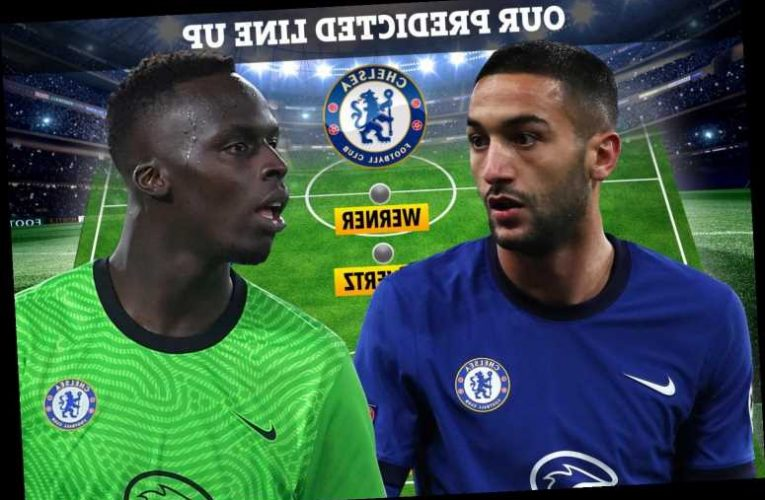How Chelsea could line-up at Man Utd with Mendy to start in goal, Thiago Silva fit and firing and Hakim Ziyech in attack