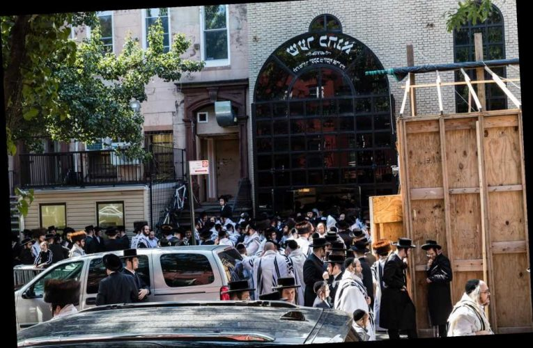 Wedding of Hasidic leader's grandchild was expected to draw 10K to NYC