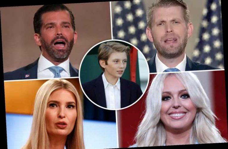 How many children does President Donald Trump have? Barron, Ivanka, Tiffany, Eric and Donald Jr