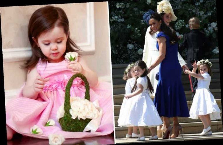 Jessica Mulroney designs range of flower girl dresses two years after daughter did the role for best pal Meghan Markle