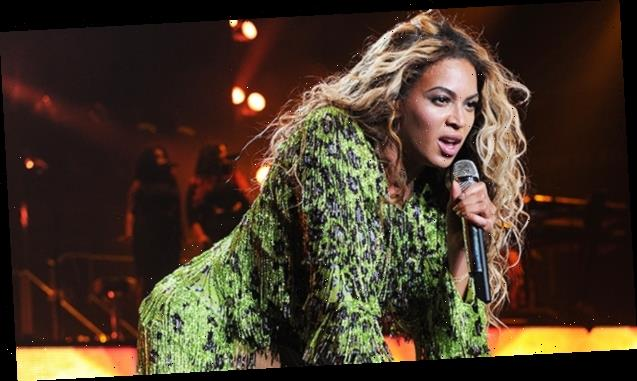 Beyonce Slays In Plunging Blazer, Green Crop Top & More Ivy Park Looks Ahead Of New Launch — Pics
