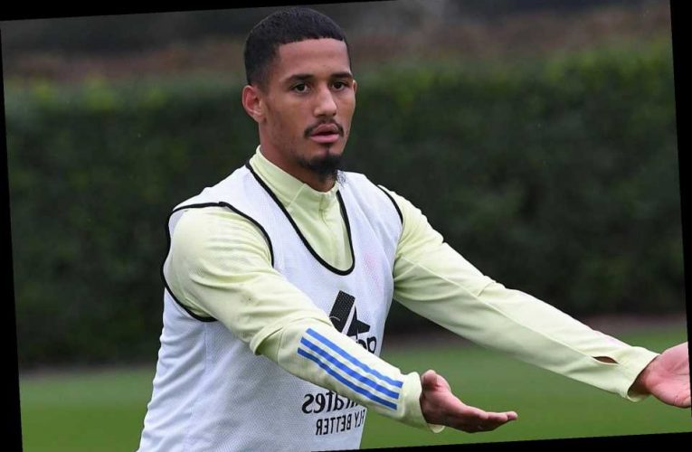 Arsenal in talks to send William Saliba back out on loan with Rennes keen on transfer for defender