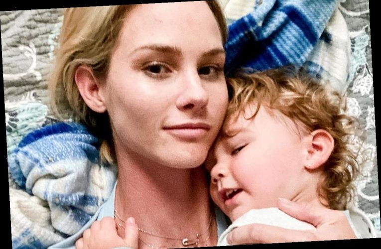 RHOC's Meghan King 'relieved' as son Hart, 2, diagnosed with Cerebral Palsy as she says tragic news 'didn't hit me hard'