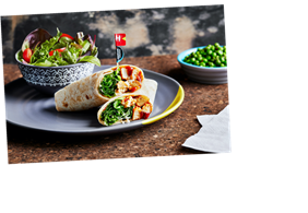 Nando's new menu includes sweet potato wedges, garlic perinaise and a plant-based fake chicken wrap