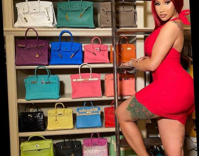 Cardi B Shows Off Her Epic Hermès Birkin Collection, as Ex Offset Says He Gifted 15 of the 23 Bags