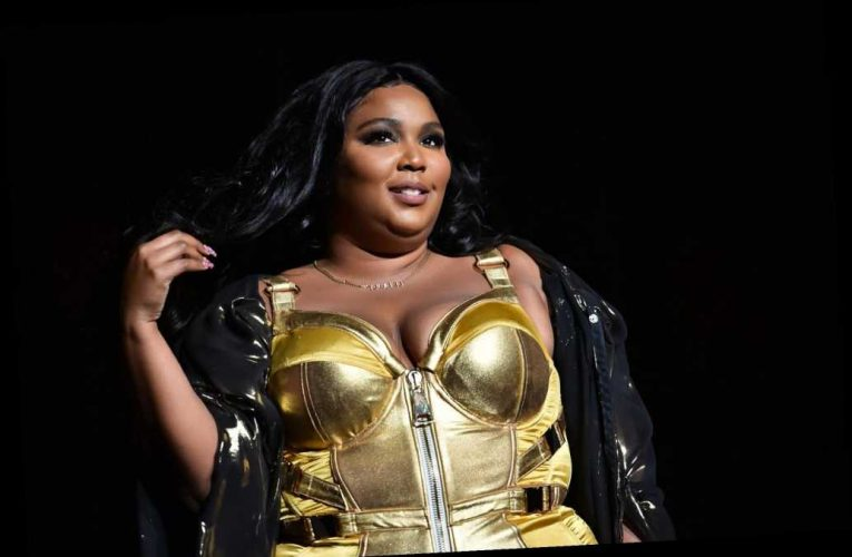 Lizzo Wore a Patriotic Bustier to Vote