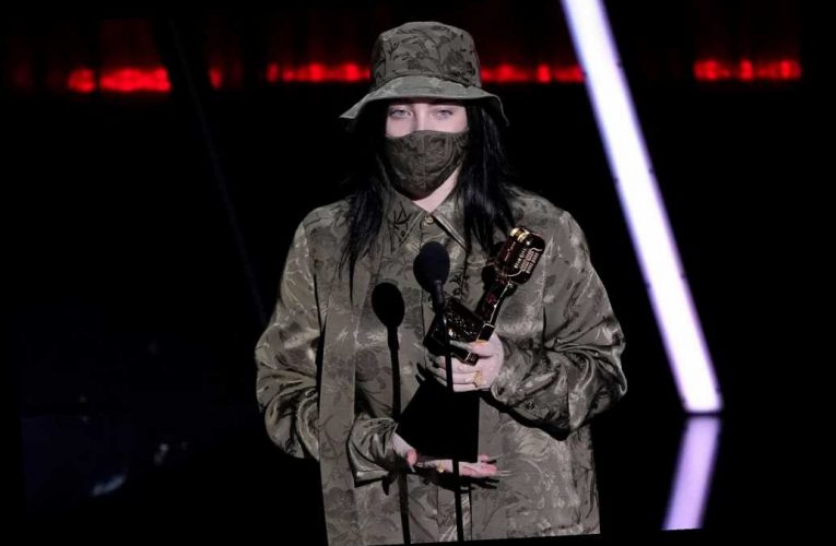 Billie Eilish Says 'It's Always a Shock When I Win' as She Accepts Top 200 Album at BBMAs 2020