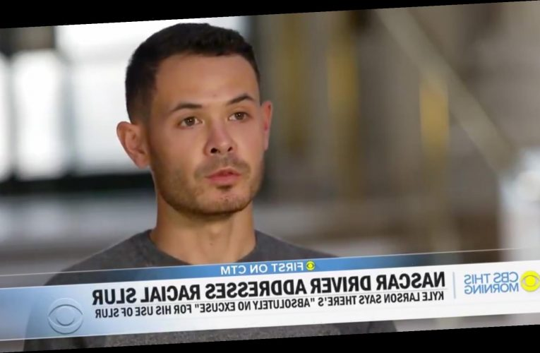 NASCAR Driver Kyle Larson Speaks Out in First Interview After Being Suspended for Racial Slur