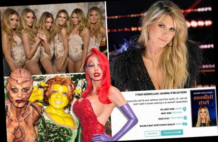 AGT Heidi Klum's Halloween 2020 party canceled due to Covid pandemic – but sites are selling fake tickets for $3,258
