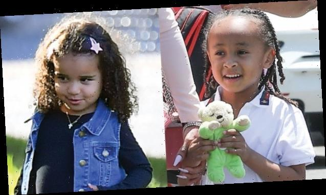Dream Kardashian, 3, Has A Blast Playing Ring Toss & Connect 4 At Big Brother King Cairo's 8th Birthday