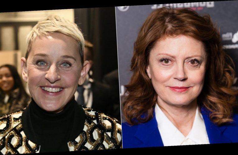 Why Susan Sarandon can't stand Ellen DeGeneres