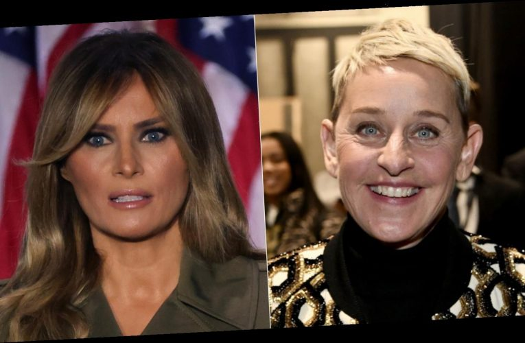 Are Ellen DeGeneres and Melania Trump friends?