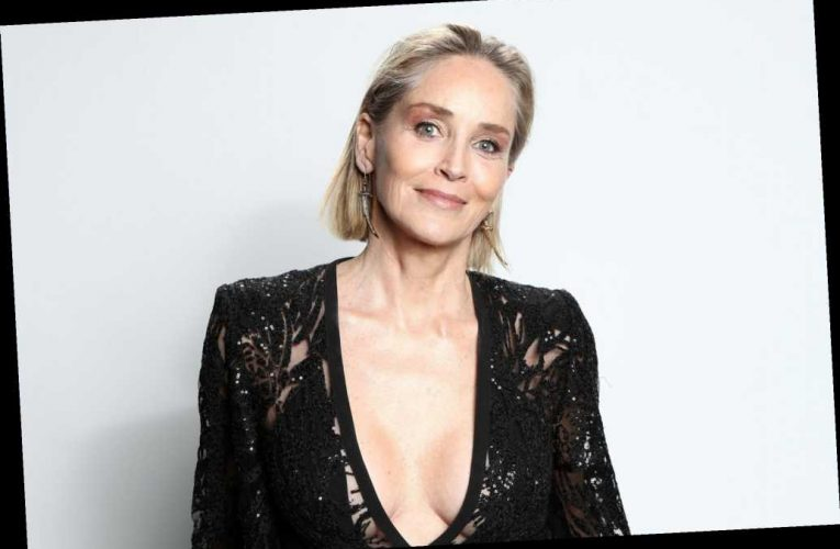 Sharon Stone jokes that her dating life is 'like a comedy'