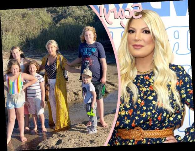 Tori Spelling & Kids 'Unharmed' After 'Man With A Machine Gun' Started Shooting At Hotel!