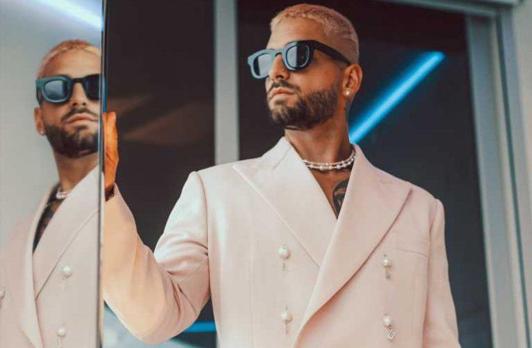 Maluma Gets Into Design With Latin Billboard Awards Looks