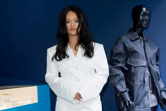 LVMH Says Rihanna's Fenty Clothing Line Is a 'Work in Progress