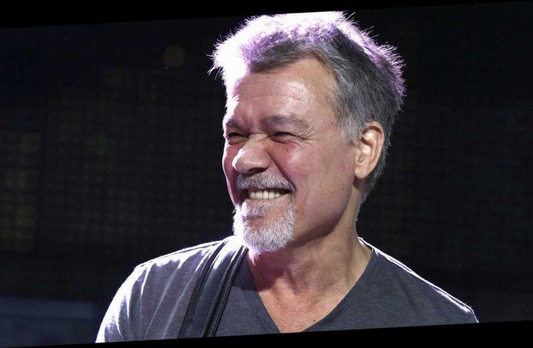 Celebs react to Eddie Van Halen's death: 'My heart is broken'