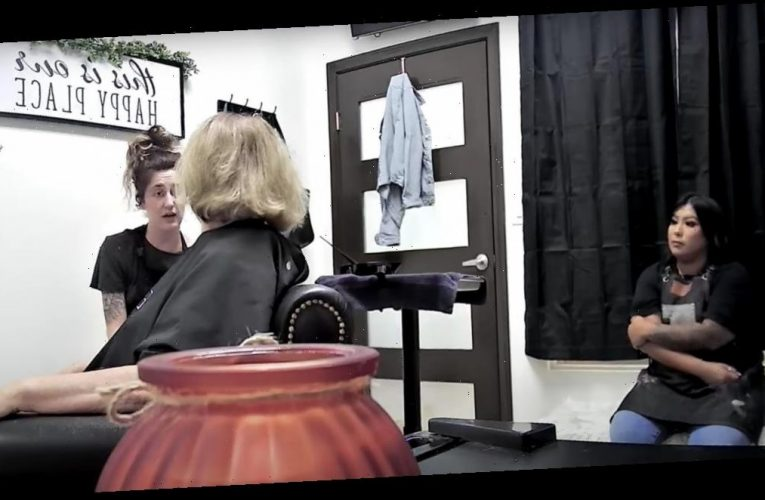 A hairstylist is going viral after posting a video of a white client who refused to engage with her Latina assistant