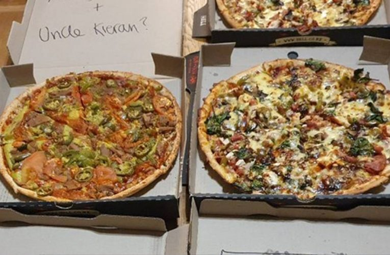 Nats stronghold? Yeah right! Hell Pizza's cheeky message in delivery to Labour's Kieran McAnulty