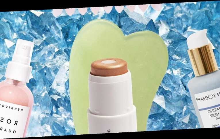 11 crystal beauty products to add magic to your make-up bag