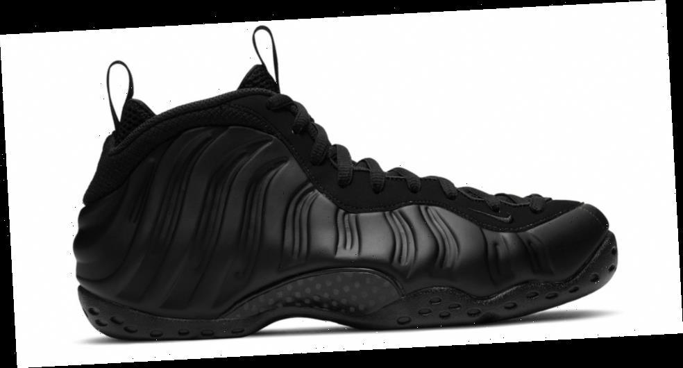 New Nike Air Foamposite One Denim Obsidian Black 314996 ...