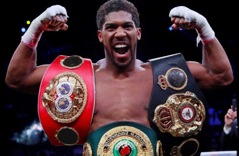 Anthony Joshua vs Kubrat Pulev: London date set for heavyweight world title defence