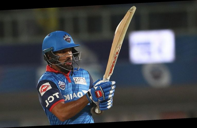 Shikhar Dhawan hits maiden IPL century as Delhi Capitals beat Chennai Super Kings to go top