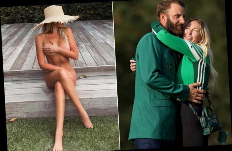 Paulina Gretzky caps off Masters party with a nude selfie
