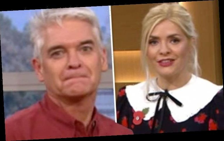 Phillip Schofield tells Holly Willoughby to 'shut her face' after This Morning blunder