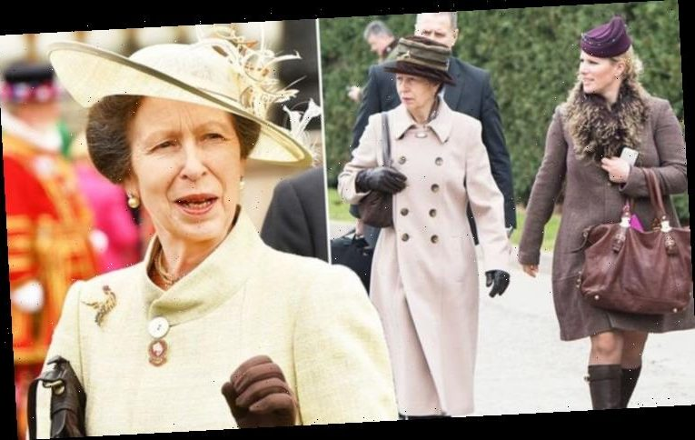 Princess Anne's body language suggests a 'discomfort' with Zara Tindall