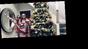 Inside Coronation Street star Alan Halsall and Tisha Merry's stunning home including huge Christmas tree